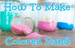 How To Make Colored Sand
