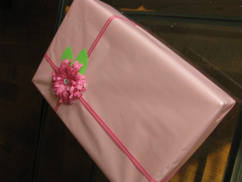 Guest Blogger ~ Embellish Your Gift With A Flower