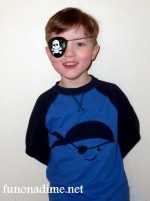 Make A Personalized T-Shirt Design {Pirate Style}