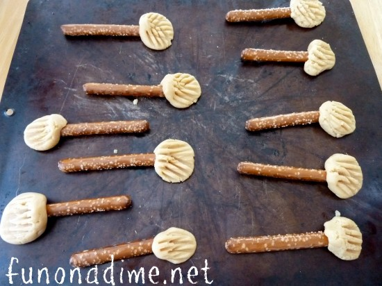 Fun Halloween Recipes - Broom Stick Cookies - Kids will love helping you make them