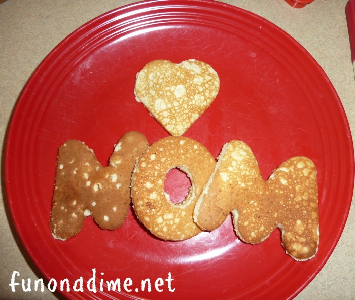 Personalized Mother's Day Breakfast Ideas