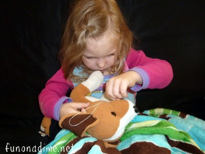 How to teach children to sew