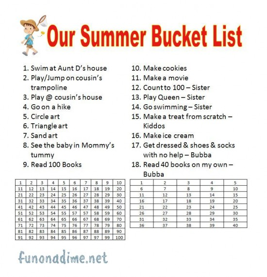 Crazy bucket list ideas for teenagers