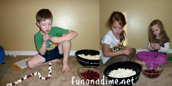 Holiday Popcorn Garland