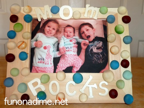 Creative Picture Frames for Mother's Day