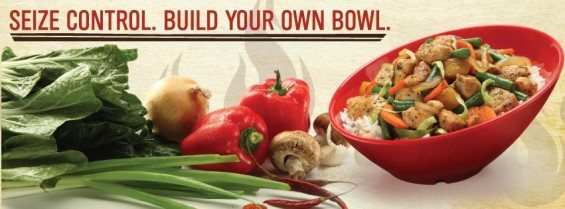 Genghis Grill Build your own bowl