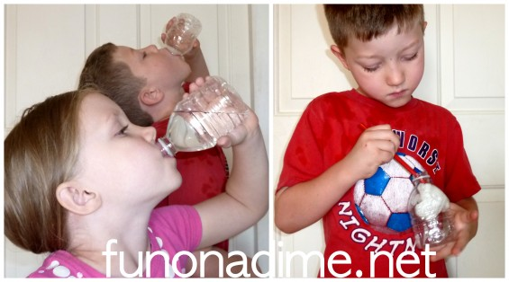 Fun On a Dime - water bottle crafts