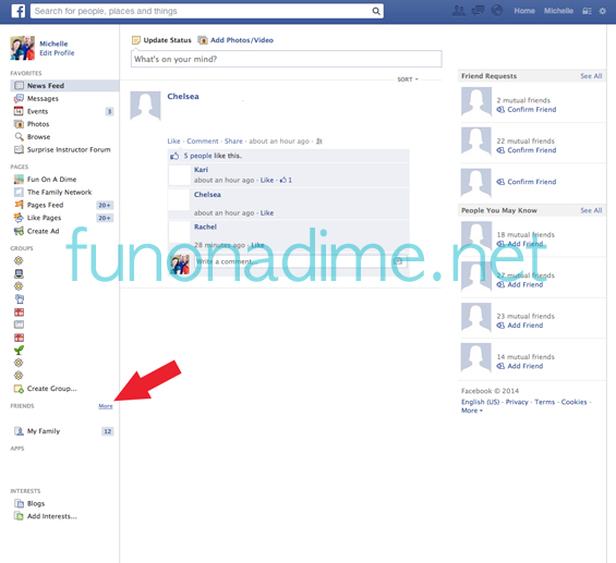 Save Time on Facebook Tips