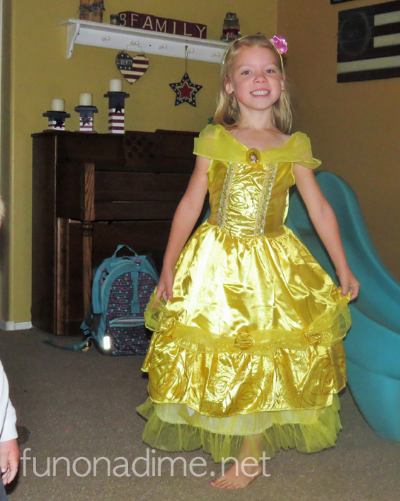 Disney Princess Belle Costume {Review}