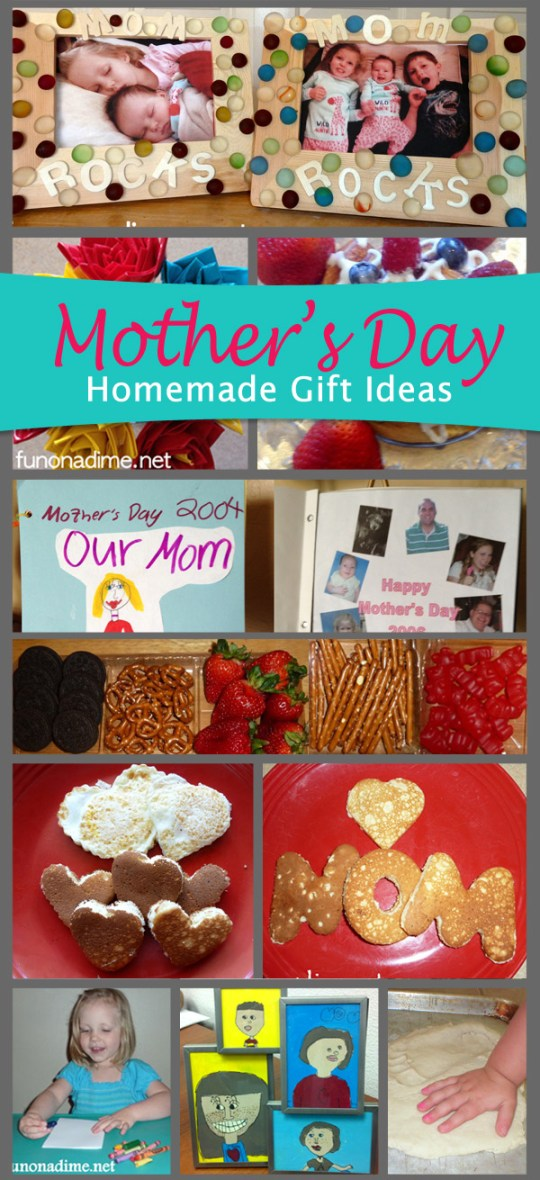 10 Mother's Day Homemade Gift Ideas - Perfect for Dad and kid initiated gifts