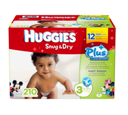 Huggies Diaper Coupon at Costco