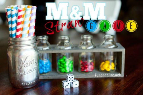M&M Games - Fun family game ideas