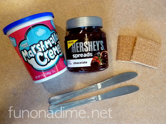 Easy yummy smores - no heat needed, no bake