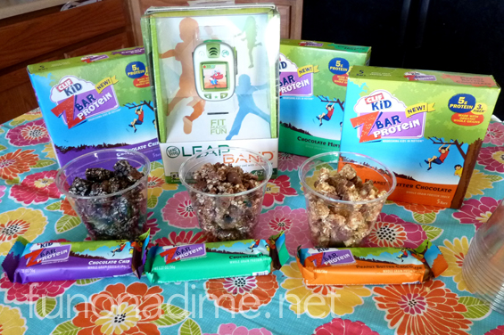 Enjoying fitness with kids, CLIFF bars