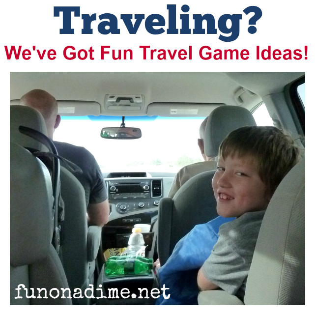 """In My Bag…"" Ultimate Memory Game {Road Trip Games}"