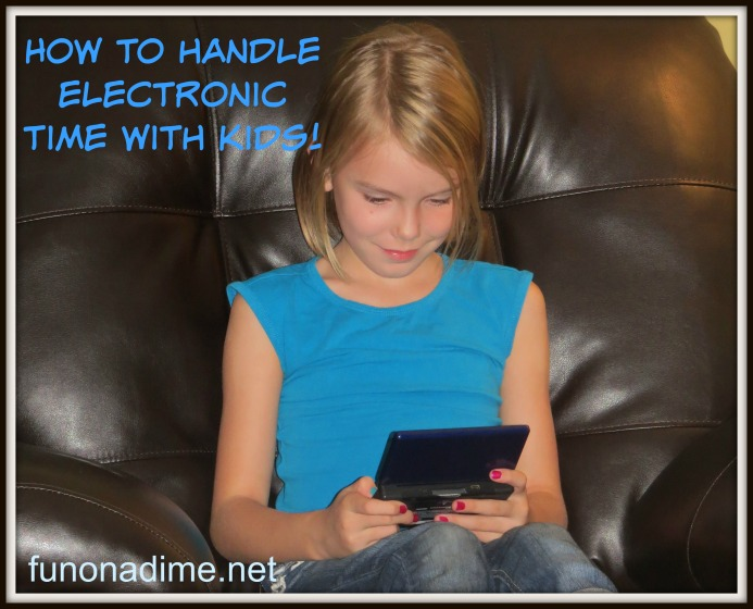 electronic time with kids