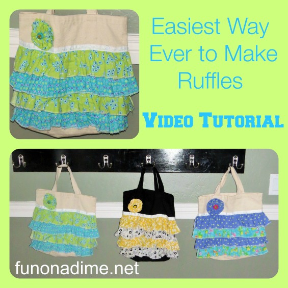 Easiest Way Ever to Make Ruffles