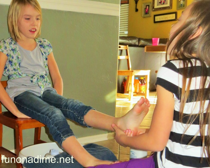 Pedicures at home #1
