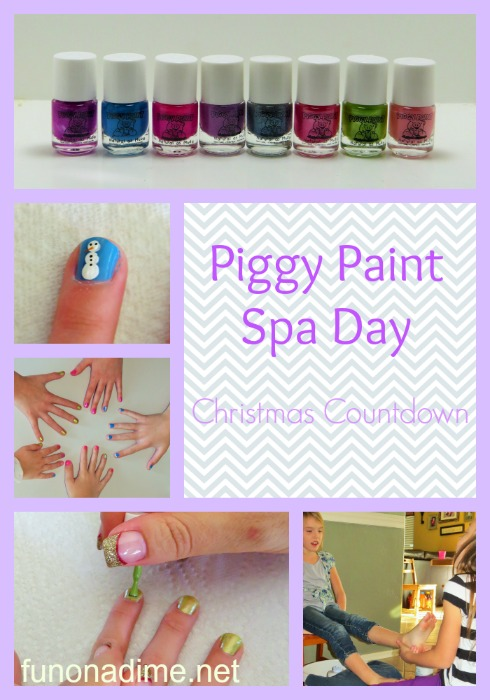 Piggy Paint Spa Day #PamperedPiggies #Ad