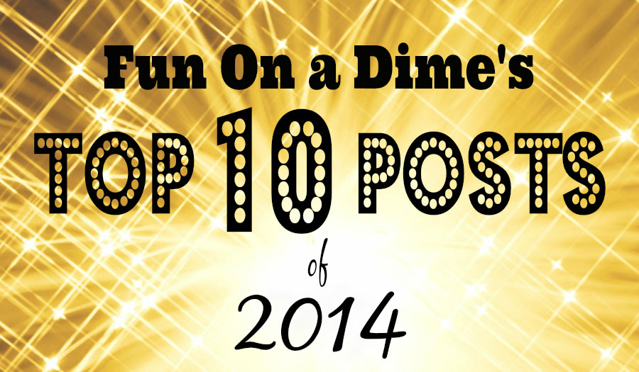 Top 10 Posts 2014 from funonadime.net