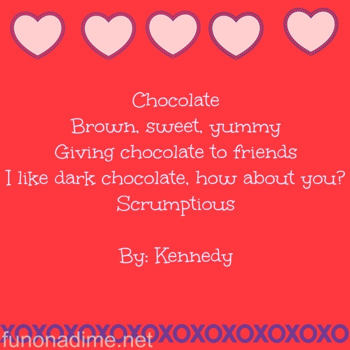 valentines day poems for kids