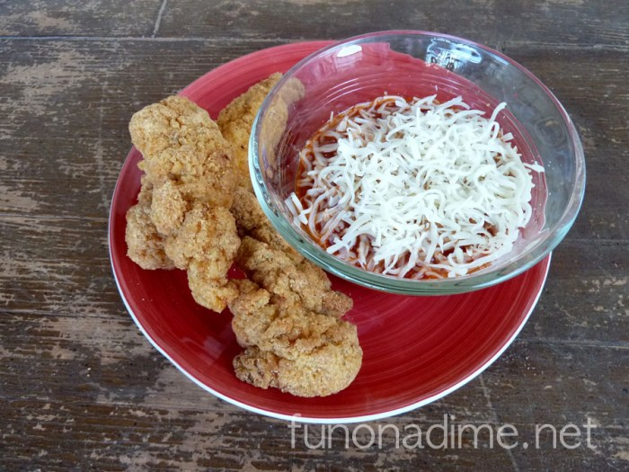 Chicken Parmesan Dippers & Foster Farms Givewaway