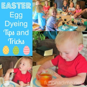 Easter egg dyeing tips and tricks