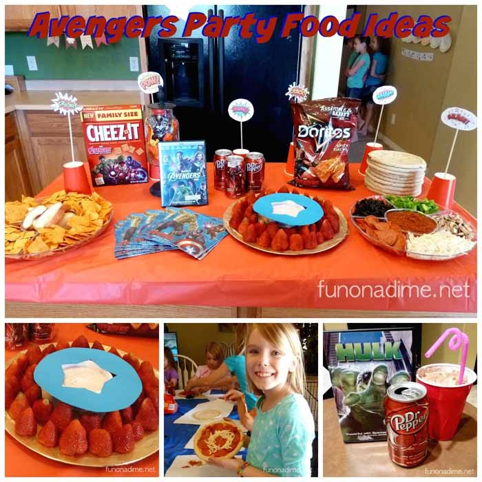 Avengers Party Food Ideas - SquareAvengers Food Ideas