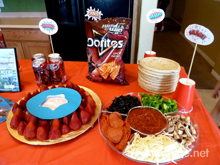 Avengers Movie Party Food Ideas