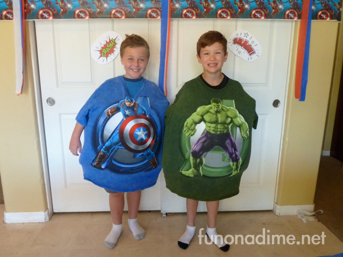Avengers Movie Party - Sumo Wrestling