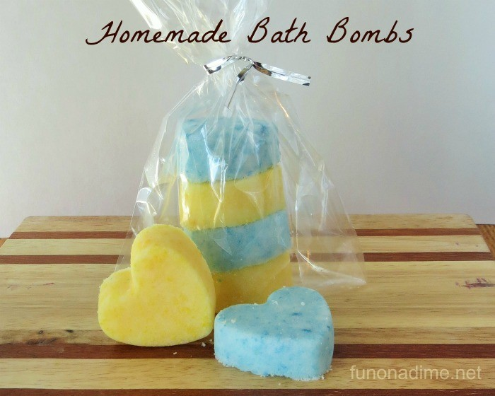 Homemade Bath Bombs fizzy, foamy, fun