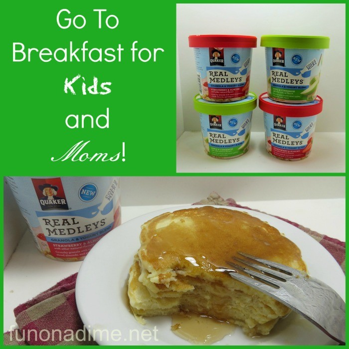 Go to Breakfast for Kids and Moms! #QuakerRealMedleys #Ad