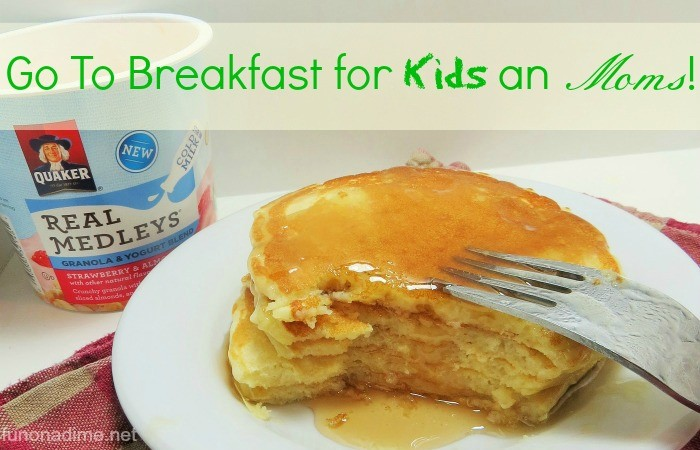 Go to breakfast for moms and kids! #QuakerRealMedleys #Ad