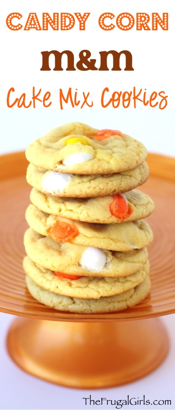 50+ Candy Corn Halloween Inspired Treats and Snacks - cookies