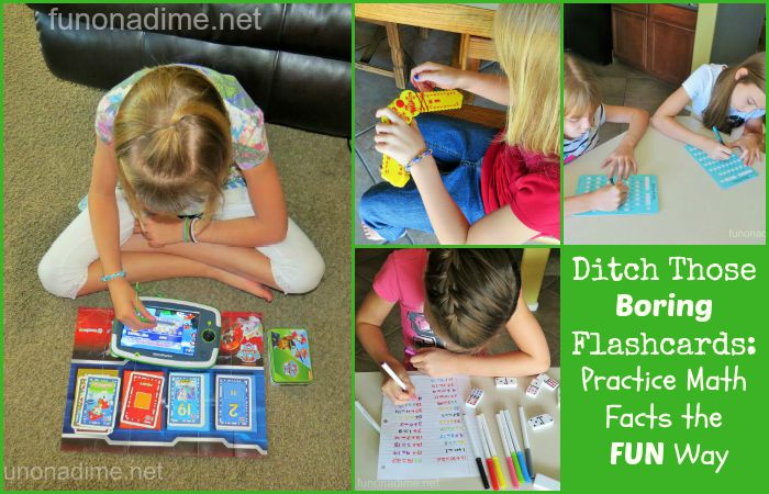 Ditch those boring flashcards practice math facts the fun way #LeapFrog #Imagicards #LeapBacktoSchool