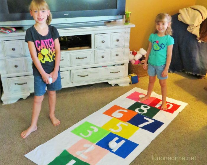 preschool activity at home