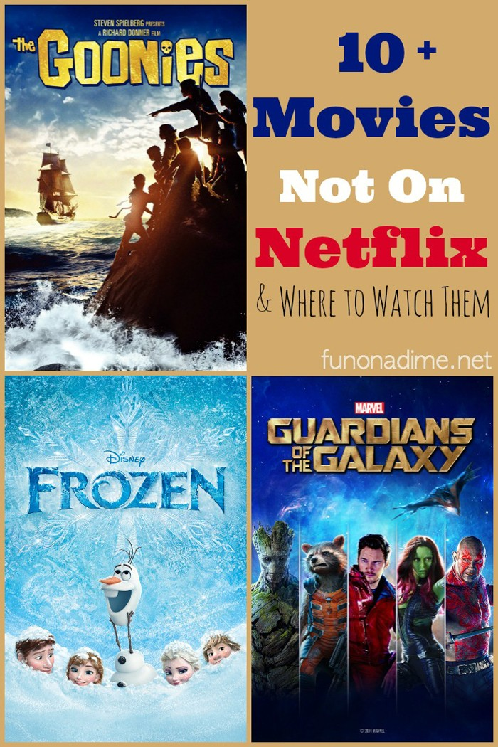 Movies you won't find on netflix - 10 Movies not on Netflix and Where to Watch them - VidAngel movie review - Frozen and 9 other movies you can't watch on Netflix and where to watch them - VidAngel movie review