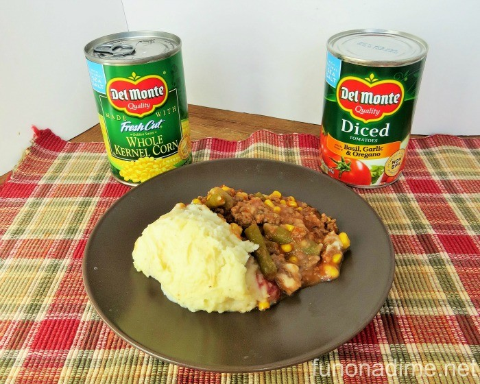 Del Monte Shepherds Pie