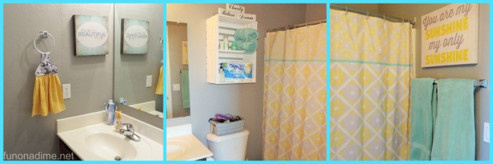 Tween Bathroom Makeover All Angles