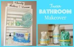 Tween Bathroom Makeover