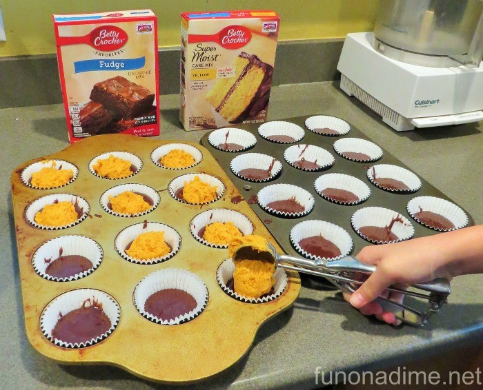 betty crocker brownie bottom cupcakes