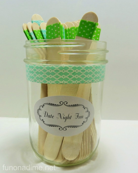 Date Night Fun Jar