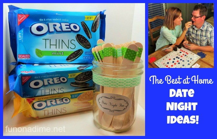 The Best At Home Date Night Ideas #OREOThinsAreIn [Ad]