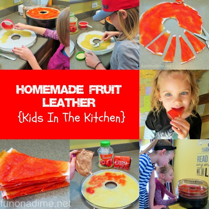 {Kids in the Kitchen} Homemade Fruit Leather Recipe
