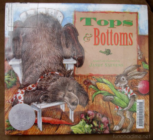 10 fave children's books - tops and bottoms