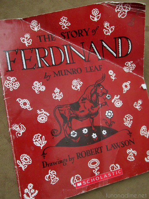 fave children's books - ferdinand
