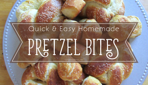 Quick & Easy Homemade Pretzel Bites