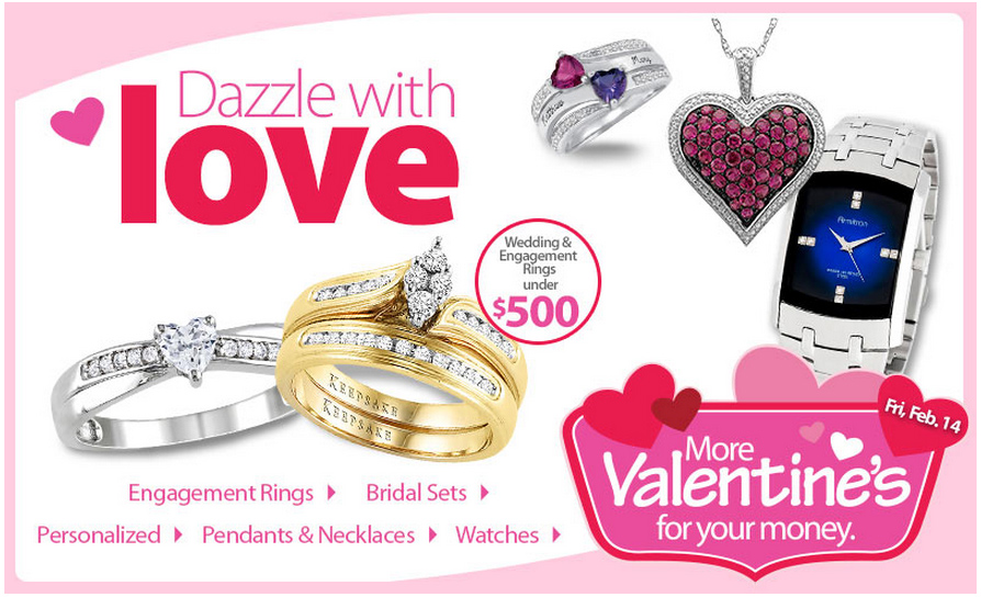 Get More Valentineu0027s Jewelry For Your Money At Walmart