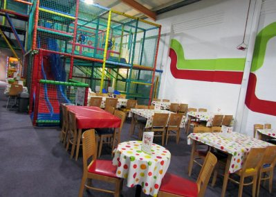 Funsters Burslem Dining Area