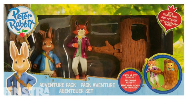 Peter Rabbit Adventure Pack Figures Figurine Toy Beatrix ...